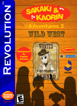 SAK Adventures 2 Wild West Re-Release Box Art