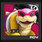 ACL Mario Kart 9 character box - Roy Koopa