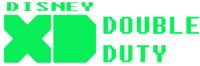 Disney XD Double Duty Logo