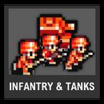 Super Smash Bros. Strife Assist box - Infantry & Tanks