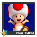 ACL Mario Kart 9 character box - Red Toad