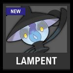 Super Smash Bros. Strife Pokémon box - Lampent