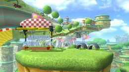 SSB4 Mario Circuit