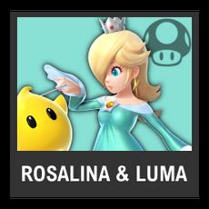 Super Smash Bros. Strife character box - Rosalina & Luma