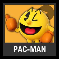 Super Smash Bros. Strife character box - Pac-Man
