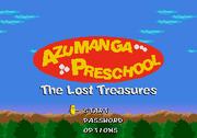 AP The Lost Treasures Title Screen