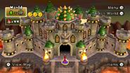 Bowser's Castle Stage