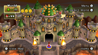 Bowser's Castle Stage