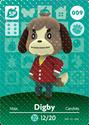 Digby - AC amiibo card