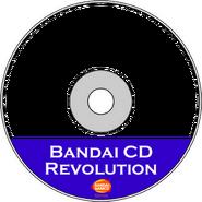 Bandai CD Revolution CDR Art Transparent (HQ)