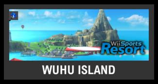 Super Smash Bros. Strife stage box - Wuhu Island