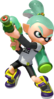 Super Smash Bros. Strife recolour - Inkling 7