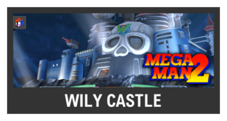 Super Smash Bros. Strife stage box - Wily Castle