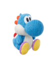 Light Blue Yarn Yoshi - Yoshi Woolly World amiibo