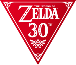 Legend of Zelda 30th Anniversary logo