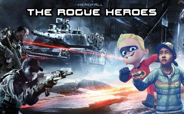 HeroFall DLC poster