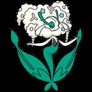671Florges White Flower Dream