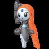 Super Smash Bros. Strife recolour - Meloetta-Aria 4