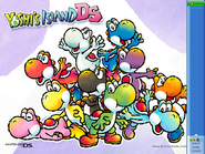 Yoshis Island DS Wallpaper 6