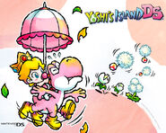 Yoshis Island DS Wallpaper 3