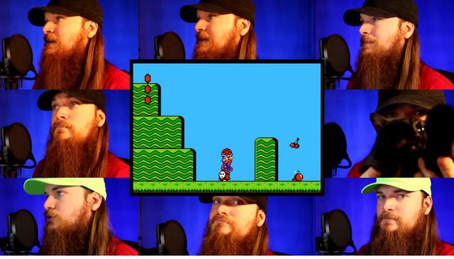 File:Smooth McGroove Super Mario Bros 2 - Overworld Theme Acapella Cat 1.png