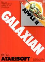 Galaxian Apple II portada