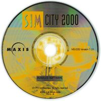 SimCity 2000 - CD DOS USA