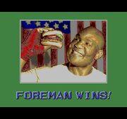 Foreman Wins!.