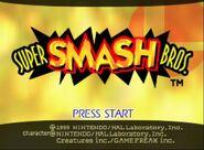 Super Smash Bros. - captura 1