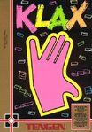 Klax NES portada