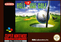 HAL's Hole in One Golf - Portada EUR