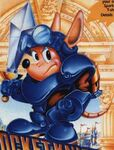 Rocket Knight Adventures portada USA