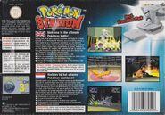 Pokémon Stadium - Portada EUR BACK