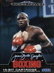 James 'Buster' Douglas Knockout Boxing - portada gen
