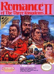 Romance of the Three Kingdoms II - Portada.jpg