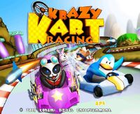 Krazy Kart Racing app icono