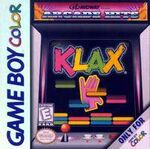Klax Game Boy Color portada