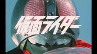 Kamen Rider (TV) Intro-0