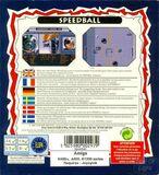 Speedball contraportada Amiga Kixx