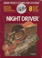 Night Driver portada Atari 2600 EUR