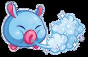 Kirby Mass Attack arte - Ice Noserunt