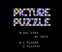 Picture Puzzle TÍTULO