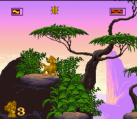 The Lion King SNES Captura 01