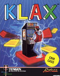 Klax Commodore 64 portada UK