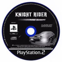 Knight Rider - The Game CD PS2