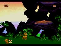 The Lion King GENESIS captura nivel