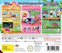 Kirby Triple Deluxe - Cover AUS back