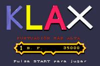 Klax Game Boy Advance captura1