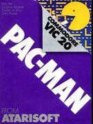 Pac-Man portada VIC-20