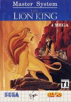 The Lion King portada MasterSystem BRA